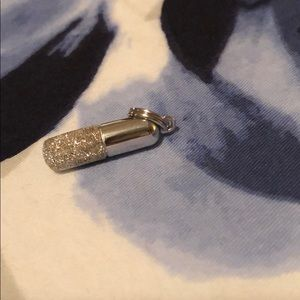 Jewelry - Silver pill charm